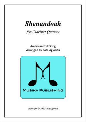 Shenandoah – Clarinet Quartet