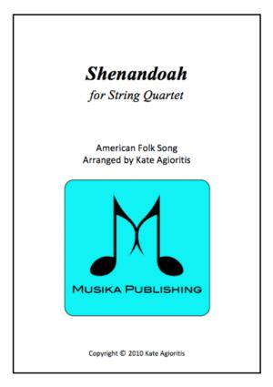 Shenandoah – String Quartet
