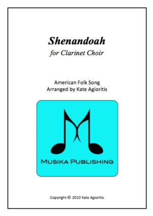 Shenandoah – Clarinet Choir