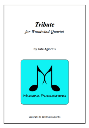 Tribute – Woodwind Quartet