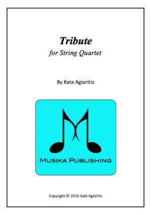 Tribute – String Quartet