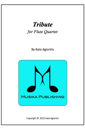Tribute – Flute Quartet