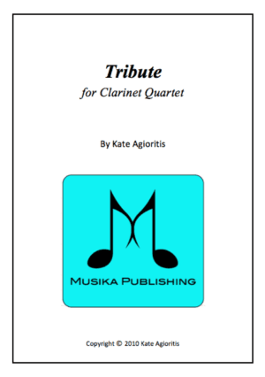 Tribute – Clarinet Quartet