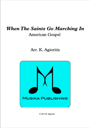 When the Saints Go Marching In – Clarinet Quartet