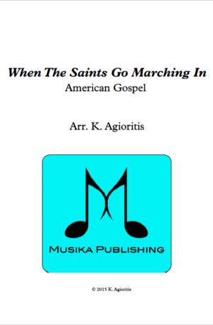 When the Saints Go Marching In – Brass Quartet