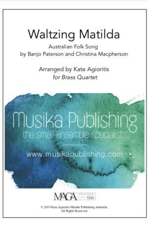 Waltzing Matilda – Brass Quartet