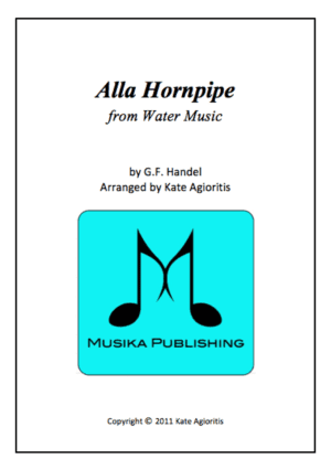 Alla Hornpipe – for Clarinet Quartet
