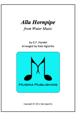 Alla Hornpipe – for Flute Quartet