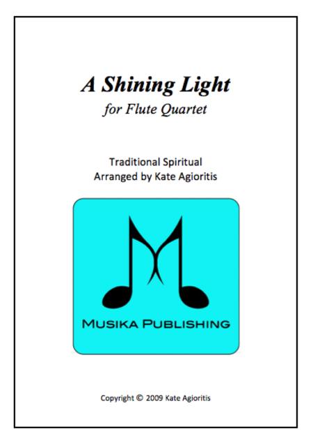 A Shining Light - Flute Quartet