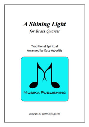 A Shining Light (This Little Light of Mine) – Brass Quartet