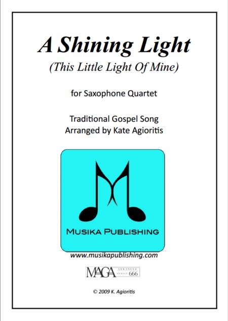 Shining Light Sax Cover
