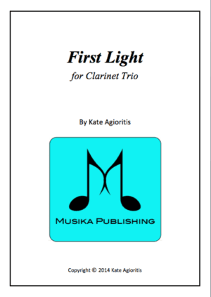 First Light – Clarinet Trio