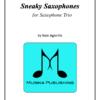 Sneaky Saxophone Trio
