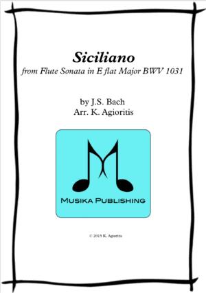 Siciliano – Woodwind Quartet