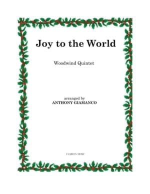 JOY TO THE WORLD – wind quintet