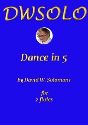 Dance in 5 for flute duo
