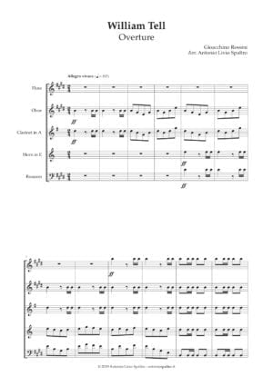 William Tell Overture for Wind Quintet