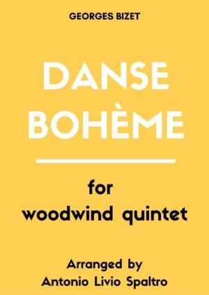 Danse Bohème for Woodwind Quintet