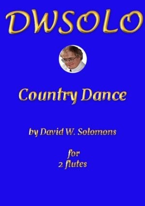 Country Dance for flute duo