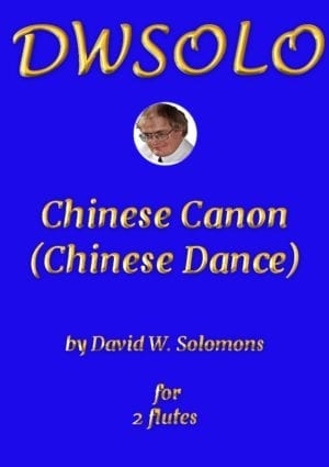 Chinese Canon (or Chinese Dance) for flute duo