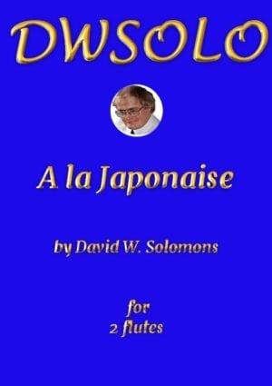 A la Japonaise for flute duo
