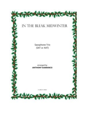In the Bleak Midwinter – Saxophone Trio