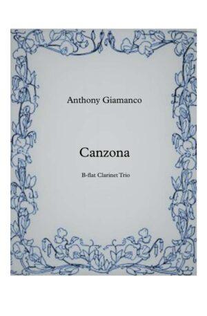 Canzona – Clarinet Trio