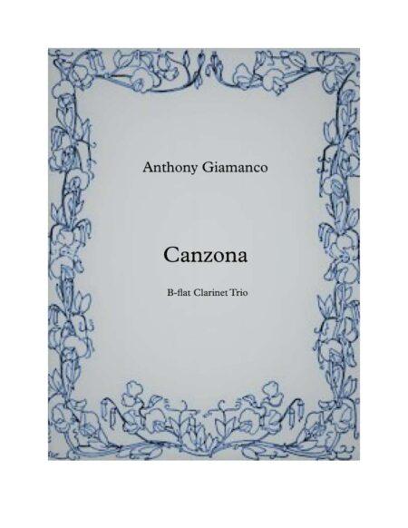 Canzona Clarinet Trio
