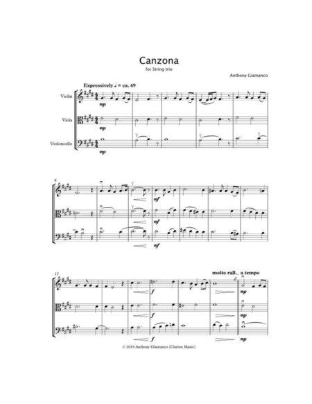Canzona string trio 1