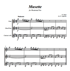 Musette – for String or Woodwind Trio