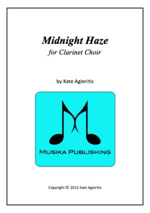 Midnight Haze – Clarinet Choir