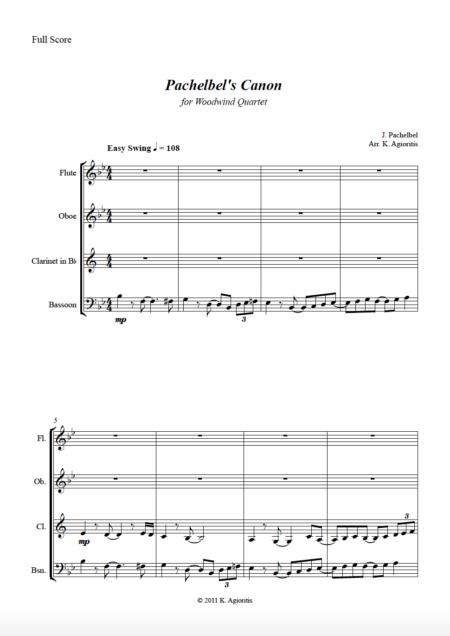 Pachelbel Jazz WW