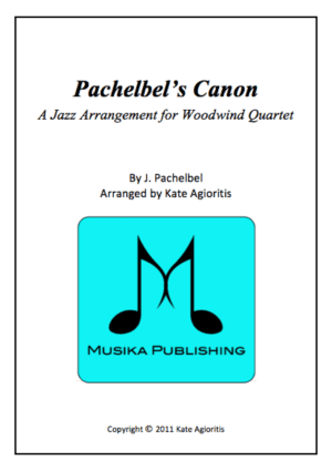 Pachelbel's Canon – A Jazz Arrangement for Woodwind Quartet