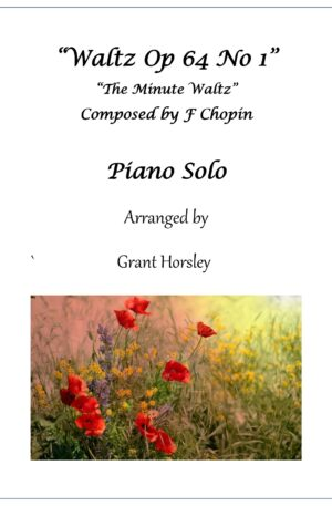 "Waltz Op 64 No1 (""the minute waltz"") Chopin. Simplified version"