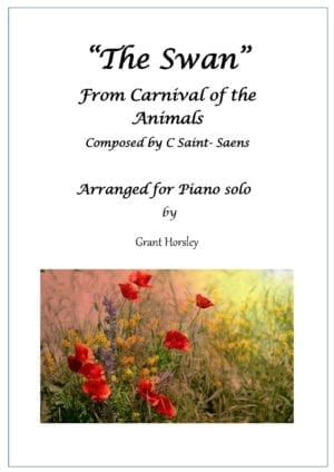 The Swan -C. S-Saens Simplified version- Solo Piano