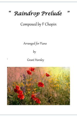 Raindrop Prelude- F. Chopin. Simplified version – Intermediate