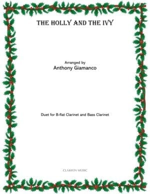 Holly and the Ivy – Clarinet Duet (B-flat clarinet, bass clarinet)
