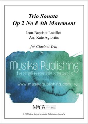 Trio Sonata – Clarinet Trio
