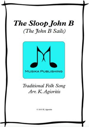 The Sloop John B – Saxophone Quartet