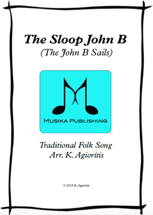 The Sloop John B – Brass Quartet