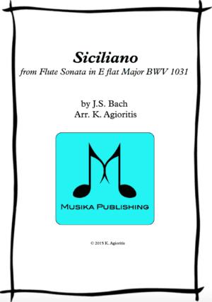 Siciliano – Saxophone Quartet