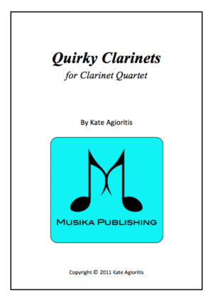 Quirky Clarinets – Clarinet Quartet
