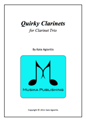 Quirky Clarinets – Clarinet Trio