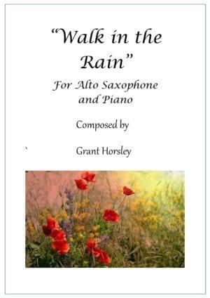 Walk in the Rain – Alto Sax and Piano