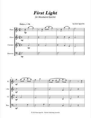 First Light – Woodwind Quartet