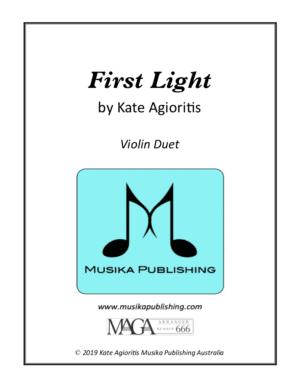 First Light – Violin Duet