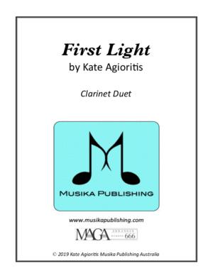 First Light – Clarinet Duet