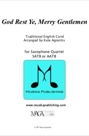God Rest Ye Merry Gentlemen – Saxophone Quartet