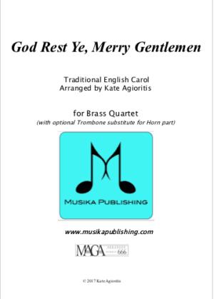God Rest Ye Merry Gentlemen – Brass Quartet