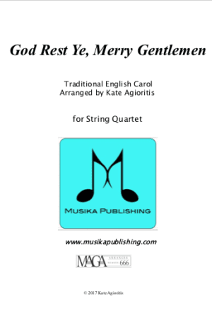 God Rest Ye Merry Gentlemen – String Quartet